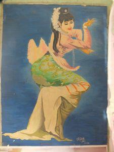 U Kyaw Thaung's Artwork